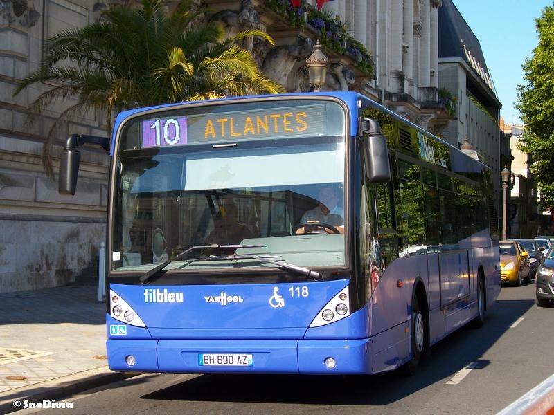 fil bleu bus